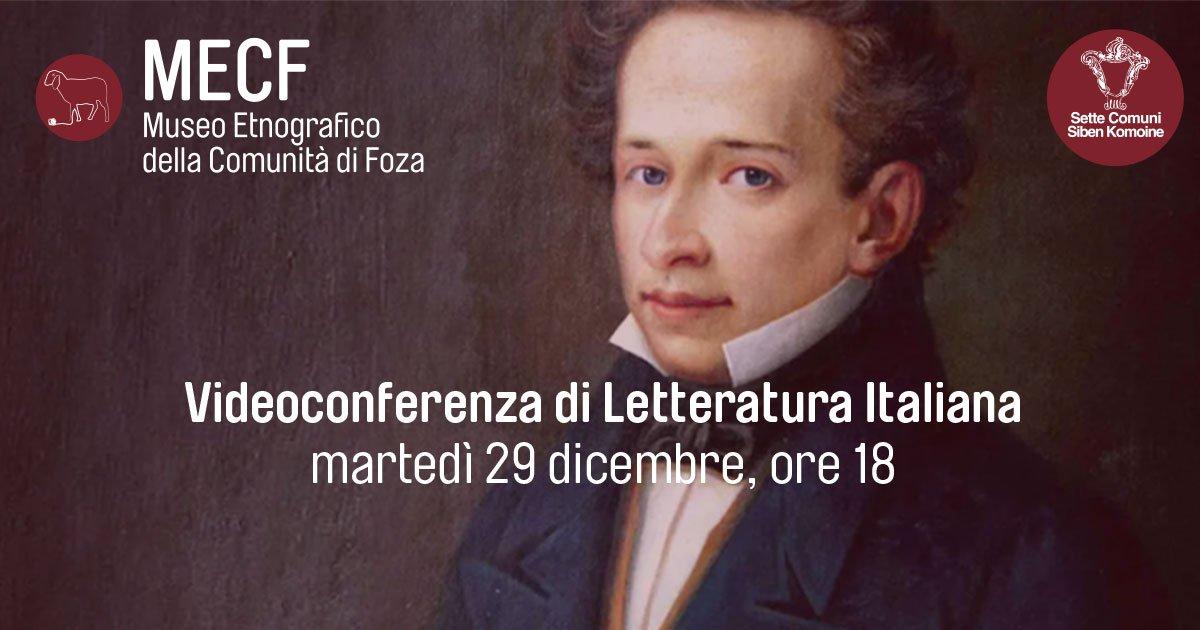 Giacomo Leopardi al MECF