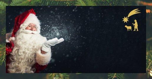A Foza, la cassetta delle letterine per Babbo Natale