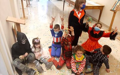 Progetto Carnevale 2021- corso di insegnamento per scuole dell'infanzia e primaria a cura di Lucia Spolverini