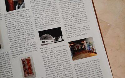 """Anche il MECF di Foza, rientra tra i piccoli gioielli museali veneti! tra le pagine della rivista """"ARTE"""""""